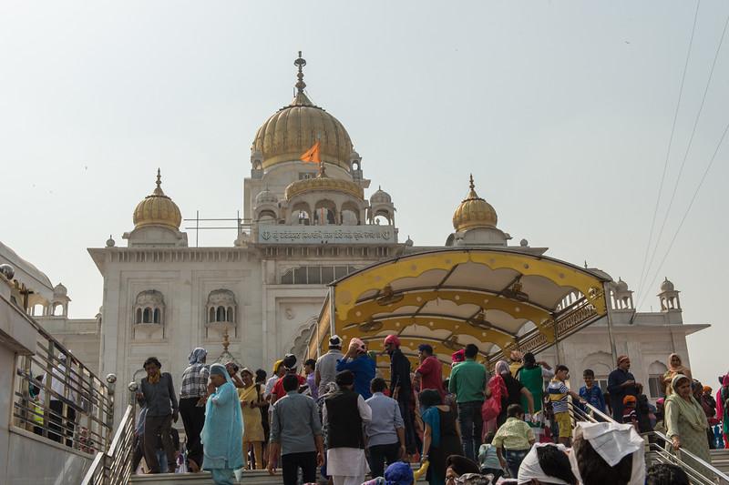 Sikh temple..Delhi.