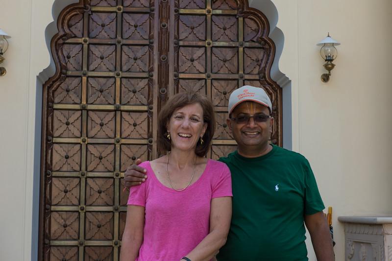 Raghu and Lisa..