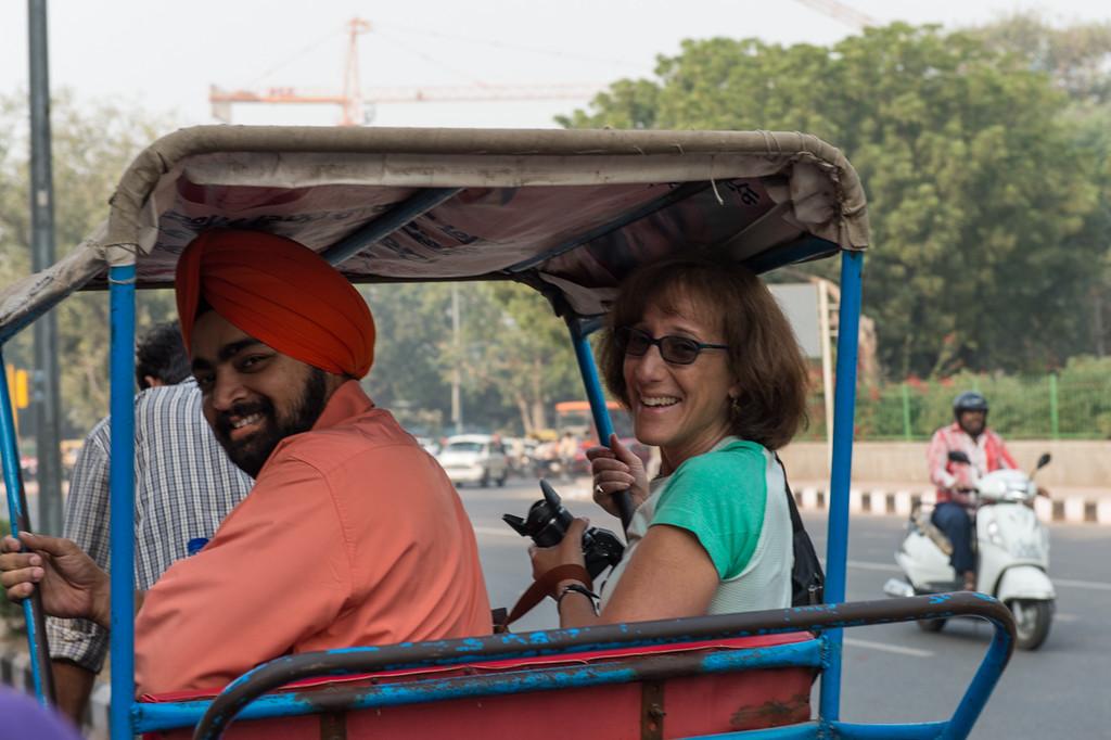Alternate means of transport around Delhi.