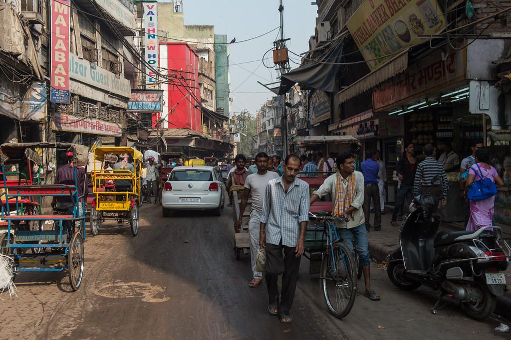 Old Delhi, Really crowded..