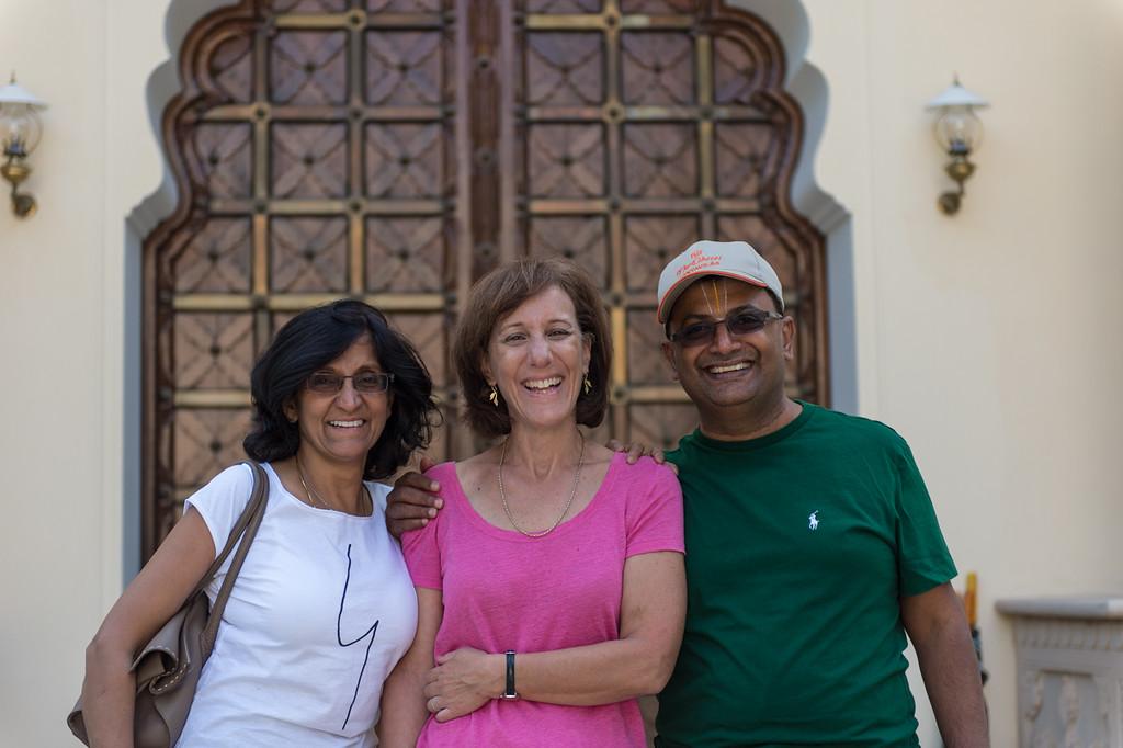 Chand, Lisa and Raghu.