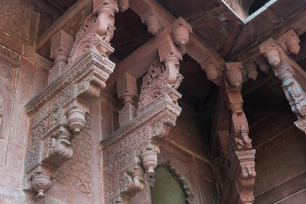Detail at Agra Fort.