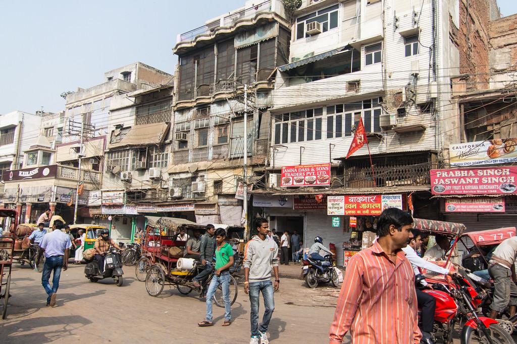 Old Delhi.