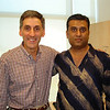 102006: Tom with Anurag, who claims Butter Chicken is the Best!