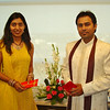 102006: Deepika and Ravi, winners of the Best Dressed for Diwali Contest.
