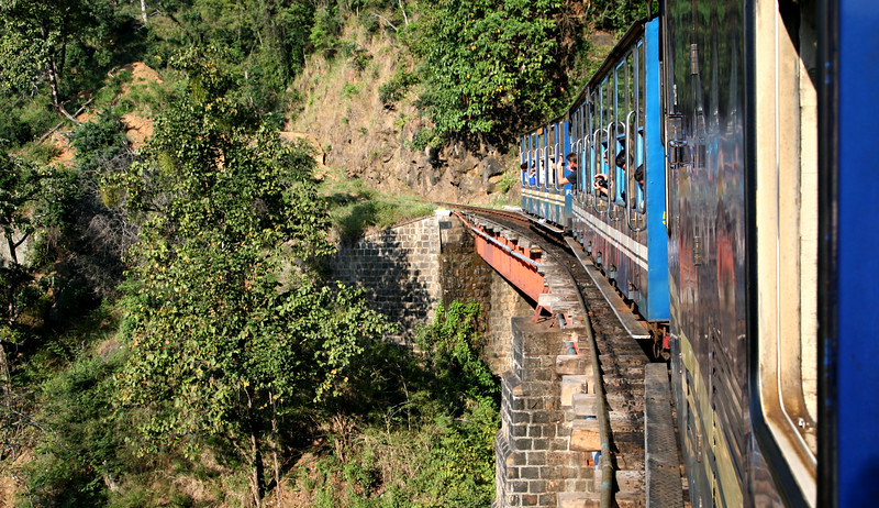 Into the Blue Mountains on the Nilgiri Mountain Railway.