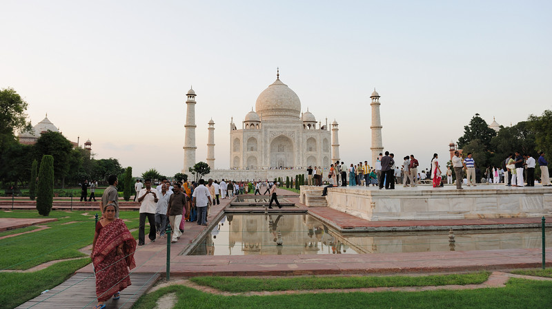 "Ever since its construction, the building has been the source of an admiration transcending culture and geography, and so personal and emotional responses to the building have consistently eclipsed scholastic appraisals of the monument.[30]<br /> <br /> <br /> Jean-Baptiste Tavernier, one of the first European visitors to the Taj Mahal<br /> A longstanding myth holds that Shah Jahan planned a mausoleum to be built in black marble across the Yamuna river.[31] The idea originates from fanciful writings of Jean-Baptiste Tavernier, a European traveller who visited Agra in 1665. It was suggested that Shah Jahan was overthrown by his son Aurangzeb before it could be built. Ruins of blackened marble across the river in Moonlight Garden, Mahtab Bagh, seemed to support this legend. However, excavations carried out in the 1990s found that they were discolored white stones that had turned black.[32] A more credible theory for the origins of the black mausoleum was demonstrated in 2006 by archeologists who resconstructed part of the pool in the Moonlight Garden. A dark reflection of the white mausoleum could clearly be seen, befitting Shah Jahan's obsession with symmetry and the positioning of the pool itself.[33]<br /> No evidence exists for claims that describe, often in horrific detail, the deaths, dismemberments and mutilations which Shah Jahan supposedly inflicted on various architects and craftsmen associated with the tomb. Some stories claim that those involved in construction signed contracts committing themselves to have no part in any similar design. Similar claims are made for many famous buildings.[34] No evidence exists for claims that Lord William Bentinck, governor of India in the 1830s, supposedly planned to demolish the Taj Mahal and auction off the marble. Bentinck's biographer John Rosselli says that the story arose from Bentinck's fund-raising sale of discarded marble from Agra Fort.[35]<br /> In 2000, India's Supreme Court dismissed P.N. Oak's petition to declare that a Hindu king built the Taj Mahal.[36][34] Oak claimed that origins of the Taj, together with other historic structures in the country currently ascribed to Muslim sultans pre-date Muslim occupation of India and thus, have a Hindu origin.[37] A more poetic story relates that once a year, during the rainy season, a single drop of water falls on the cenotaph, as inspired by Rabindranath Tagore's description of the tomb as ""one tear-drop...upon the cheek of time"". Another myth suggests that beating the silhouette of the finial will cause water to come forth. To this day, officials find broken bangles surrounding the silhouette.[38]"