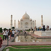 Ever since its construction, the building has been the source of an admiration transcending culture and geography, and so personal and emotional responses to the building have consistently eclipsed scholastic appraisals of the monument.[30]<br /> <br /> <br /> Jean-Baptiste Tavernier, one of the first European visitors to the Taj Mahal<br /> A longstanding myth holds that Shah Jahan planned a mausoleum to be built in black marble across the Yamuna river.[31] The idea originates from fanciful writings of Jean-Baptiste Tavernier, a European traveller who visited Agra in 1665. It was suggested that Shah Jahan was overthrown by his son Aurangzeb before it could be built. Ruins of blackened marble across the river in Moonlight Garden, Mahtab Bagh, seemed to support this legend. However, excavations carried out in the 1990s found that they were discolored white stones that had turned black.[32] A more credible theory for the origins of the black mausoleum was demonstrated in 2006 by archeologists who resconstructed part of the pool in the Moonlight Garden. A dark reflection of the white mausoleum could clearly be seen, befitting Shah Jahan's obsession with symmetry and the positioning of the pool itself.[33]<br /> No evidence exists for claims that describe, often in horrific detail, the deaths, dismemberments and mutilations which Shah Jahan supposedly inflicted on various architects and craftsmen associated with the tomb. Some stories claim that those involved in construction signed contracts committing themselves to have no part in any similar design. Similar claims are made for many famous buildings.[34] No evidence exists for claims that Lord William Bentinck, governor of India in the 1830s, supposedly planned to demolish the Taj Mahal and auction off the marble. Bentinck's biographer John Rosselli says that the story arose from Bentinck's fund-raising sale of discarded marble from Agra Fort.[35]<br /> In 2000, India's Supreme Court dismissed P.N. Oak's petition to d
