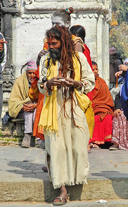 Lots of competition for Hindu holy man