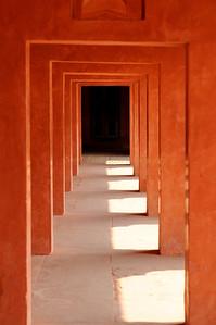 Secret passage?  Light and shadows