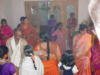 This is what a housewarming party looks like in India.