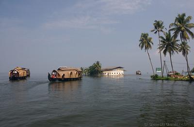 boats near the island