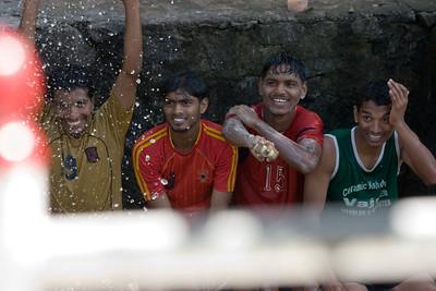 Crusing the Kerala Backwaters, Jan 16 2009