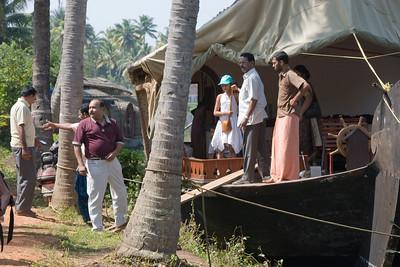 Houseboating around Lake Vembanadu, Jan 20 2009