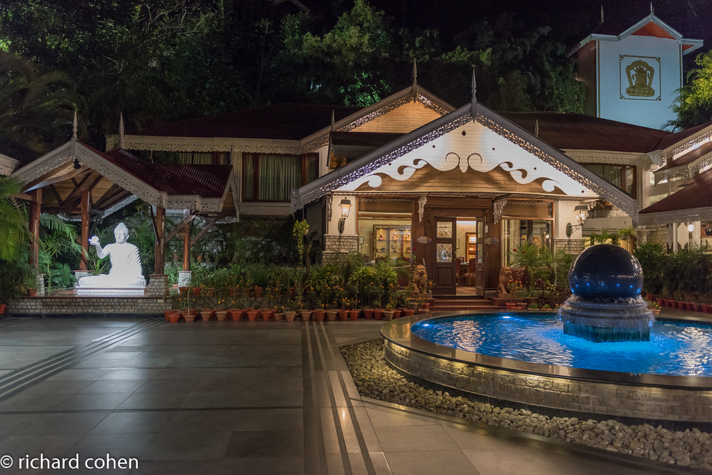 Our hotel in Sikkim, really nice.