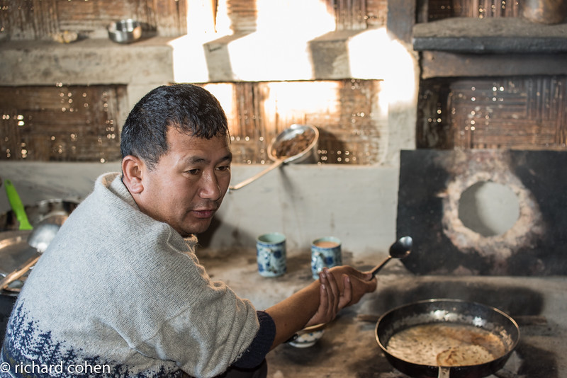One of the guides, who also cooked for us.