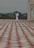 Ascetic at the Taj Mahal
