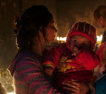 Mother and child Kathmandu