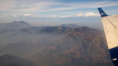 Himalayas from Buddha Air return flight