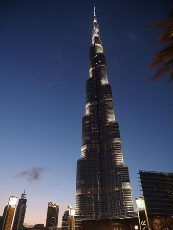 Burj Calipha - World's tallest building