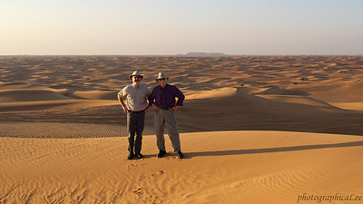 Lee and Brian - Desert Foxes