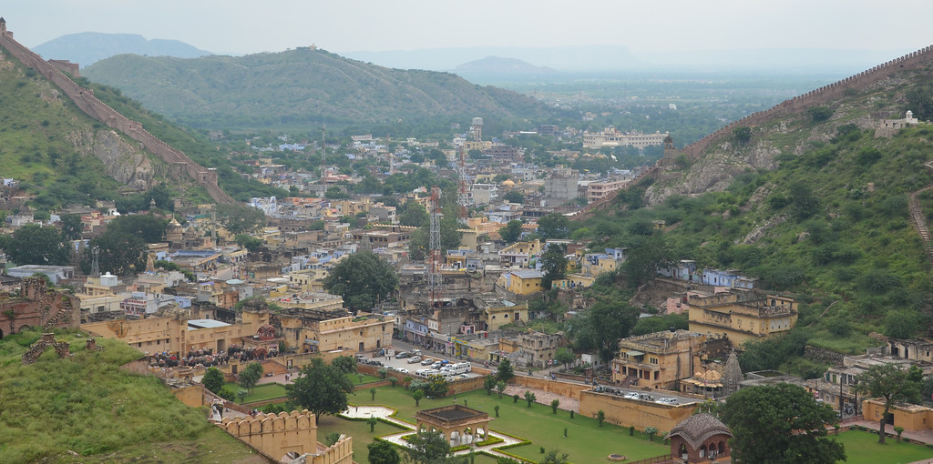 The city of Jaipur.