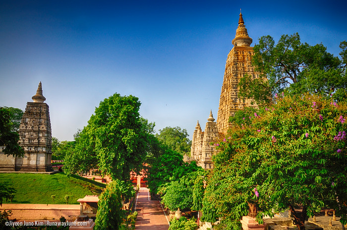 Mahabodhi Temple - where Gautama attained supreme knowledge to become Buddha,the Enlightened One