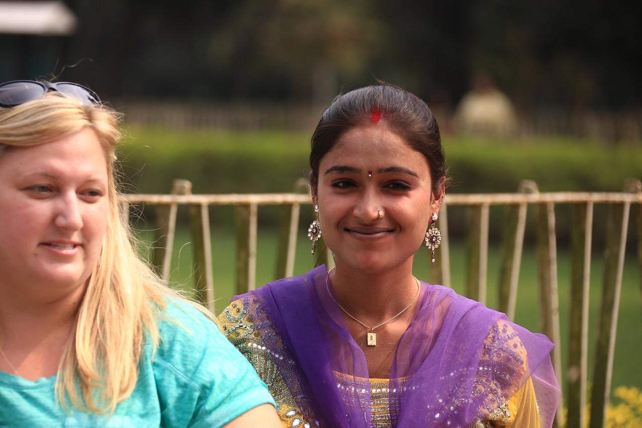 Indian girl wearing some bling.<br /> EN8A4404