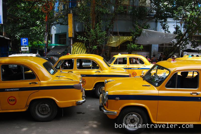 calcutta taxi cab