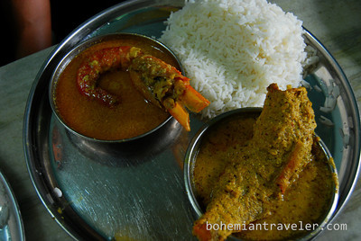 Bengali Cuisine in Calcutta, India