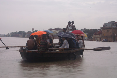 This is what the weather was like during our stay in Varanasi...