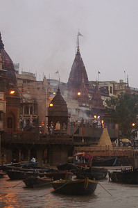 This is the Ghat where they burn the dead so that they can be reborn.