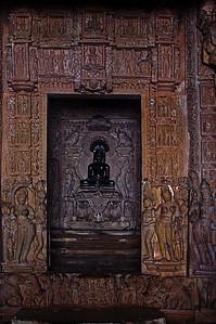 Sanctum of the Parsvanatha Temple