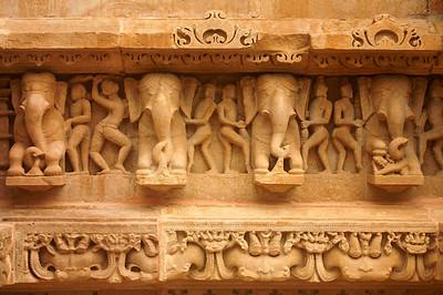 Laskshmana temple in Khajuraho