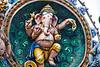 Ganesh. Note the broken right tusk.