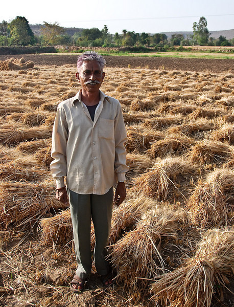 Our guide from the Bijaipor Castle. A man outstanding in his field.