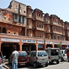 Old part of Jaipur. Shops for different castes.