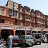 Old part of Jaipur. Shops for different castes.