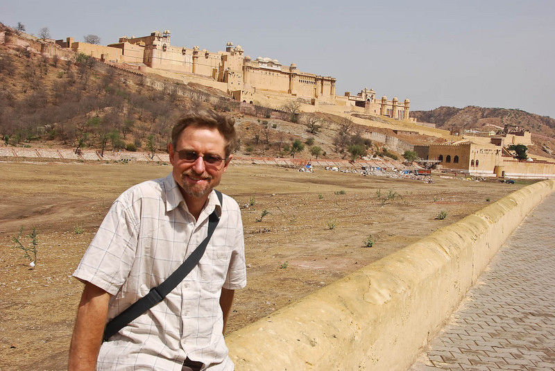 Amber Fort in the background.