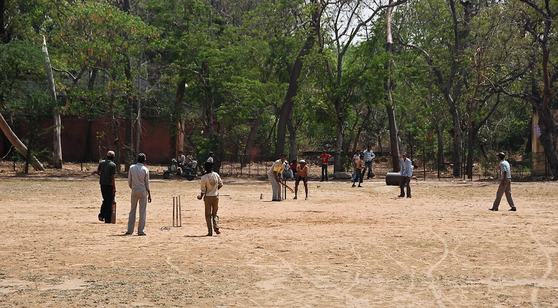 Everywhere there's a game of cricket.