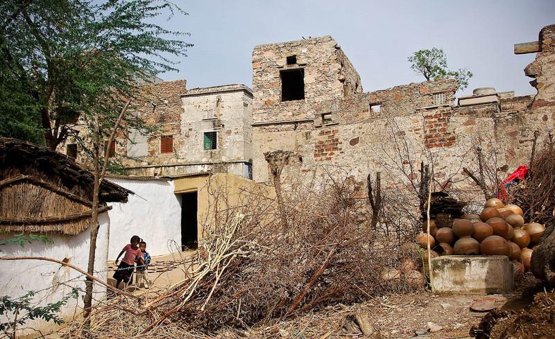 Scenes around Madhogarth village.