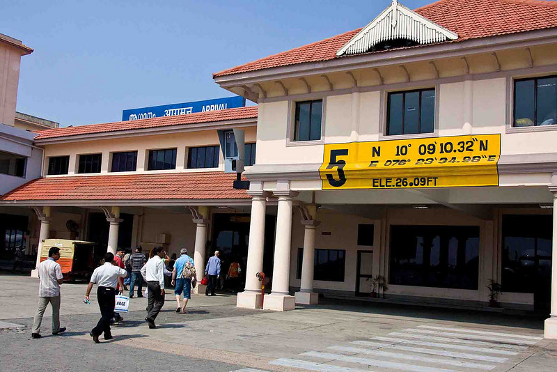 Cochin Airport, location to the 1/100-second!
