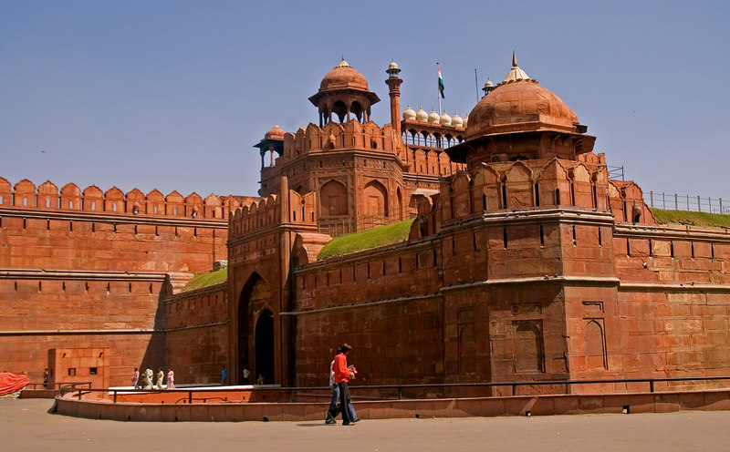 The Red Fort again