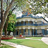 Prime Minister Nehru's house in Allahabad. Gandhi visited often and had a room upstairs. Some decisions affecting 20% of humanity were made here.