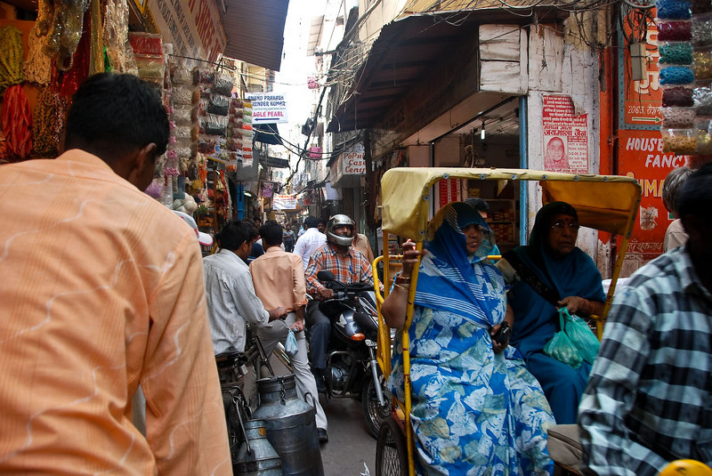 Scenes of Old Delhi from my cycle rickshaw