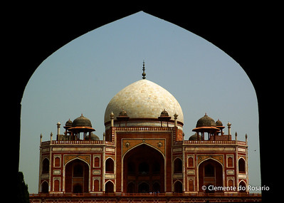 Humayun's Tomb,built by Humayun's widow in the 16th century File Ref:Delhi-2006 006R