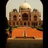 Humayun's Tomb,built by Humayun's widow in the 16th century<br /> File Ref:Delhi-2006 007R