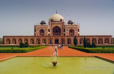 Humayun's Tomb,New Delhi, India File Ref:Delhi-2006 010R