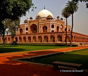 Humayun's Tomb,New Delhi, India File Ref:Delhi-2006 016R-a