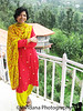 in the traditional Salwar Kameez